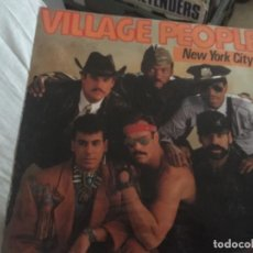 Discos de vinilo: VILLAGE PEOPLE: NEW YORK CITY. Lote 191620178