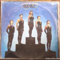 Discos de vinilo: OLÉ OLÉ. CBS, S 25797. ESPAÑA, 1983. FUNDA VG. DISCO VG+.. Lote 191620566