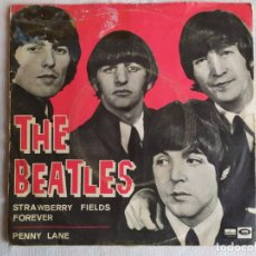 Discos de vinilo: THE BEATLES – STRAWBERRY FIELDS FOREVER / PENNY LANE. Lote 191621572