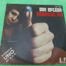 Discos de vinilo: DON MCLEAN. AMERICAN PIE. UNITED ARTISTAS RECORDS. 1972.. Lote 191622650