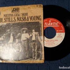 Discos de vinilo: CROSBY,STILLS,NASH Y YOUNG,NUESTRA CASA Y SIGUE.. Lote 191623130