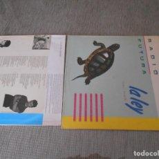 Discos de vinilo: VINILO LP DE RADIO FUTURA -LALEY DEL MAR AÑO 1984. Lote 191624298