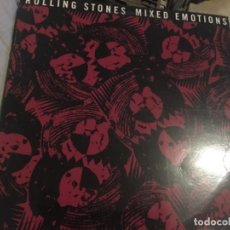 Discos de vinilo: ROLLING STONES MIXED EMOTIONS. Lote 191625126