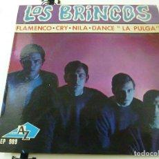Disques de vinyle: LOS BRINCOS - FLAMENCO - CRY - NILA -DANCE LA PULGA - EP- FRANCIA - N. Lote 191626925