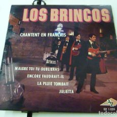 Dischi in vinile: LOS BRINCOS - ( SING IN FRENCH ) MALGRET TOI TU OUBLIERAS + 3 EP FRANCE ( FRANCIA )-N. Lote 191627227