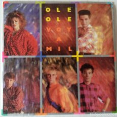 Discos de vinilo: OLE, OLE - VOY A MIL C B S - 1984. Lote 191629081