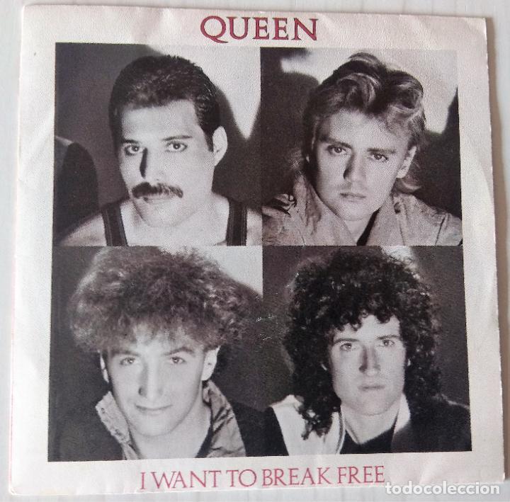 QUEEN - I WANT TO BREAK FREE EMI - 1984 (Música - Discos de Vinilo - Singles - Pop - Rock Extranjero de los 80)