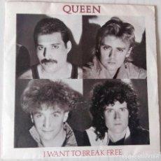 Disques de vinyle: QUEEN - I WANT TO BREAK FREE EMI - 1984. Lote 191629860