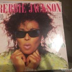 Discos de vinilo: REBBIE JACKSON: REACTION. Lote 191630773