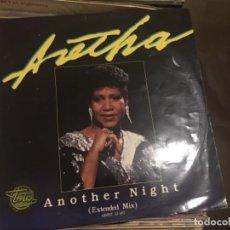 Discos de vinilo: ARETHA: ANOTHER NIGHT. Lote 191637267