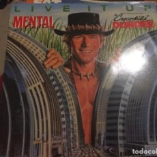 Discos de vinilo: MENTAL DUNDEE: LIVE IT UP. Lote 191639810