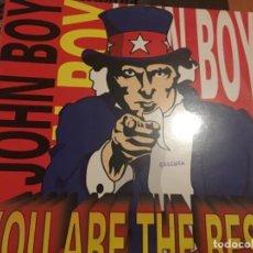 Discos de vinilo: JOHN BOY: YOU ARE THE BEST. Lote 191642905