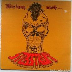 Discos de vinilo: STOSSTRUPP. WIE LANG NOCH. ROCK-O-RAMA. GERMANY 1983 LP ORIGINAL + ENCARTE (POSTER). Lote 191655136
