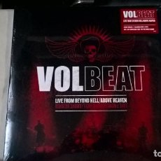 Discos de vinilo: MUSIC LP TRIPLE: VOLBEAT - LIVE FROM BEYOND HELL/ABOVE HEAVEN. ED. 2011. PRECINTADO (O). Lote 191657743
