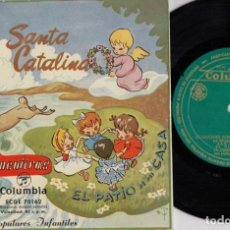 Discos de vinilo: CANCIONES POPULARES INFANTILES - VAMOS A CONTAR MENTIRAS + 5 - EP DE VINILO DE 1964 - COLUMBIA #. Lote 191666853