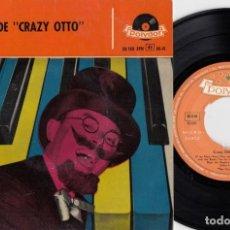 Discos de vinilo: CRAZY OTTO - COCTEL - EP ESPAÑOL DE VINILO #. Lote 191667046