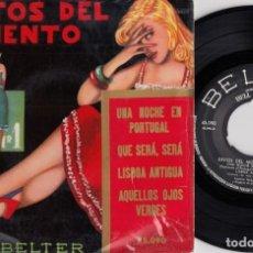 Discos de vinilo: TOMMY DORSEY / ELISE RHODES / JIMMY CARROLL - EXITOS DEL MOMENTO VOLUMEN 1 - EP ESPAÑOL DE VINILO #. Lote 191667078