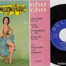 Discos de vinilo: ENOCH LIGHT - LUNA DE MIAMI CHA CHA CHA - EP ESPAÑOL DE VINILO #. Lote 191667238