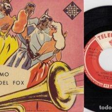Discos de vinilo: MAX GREGER / HUBERT DEURINGER - AL RITMO DEL FOX - EP ESPAÑOL DE VINILO TELEFUNKEN #. Lote 191667258