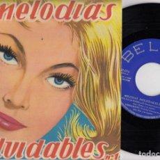 Discos de vinilo: LARRY CLINTON / ARTIE SHAW / JIMMY CARROLL - RITMOS INOLVIDABLES Nº 1 - EP ESPAÑOL DE VINILO #. Lote 191667353