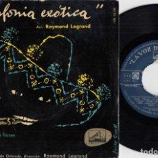 Discos de vinilo: ORQUESTA KURSAAL DE OSTENDE RAYMOND LEGRAND - SINFONIA EXOTICA - EP ESPAÑOL DE VINILO #. Lote 191667393
