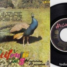 Discos de vinilo: LOS MELODISTAS DEL ACORDEON - TUTTI FRUTTI VOL 3 - EP ESPAÑOL DE VINILO #. Lote 191667460