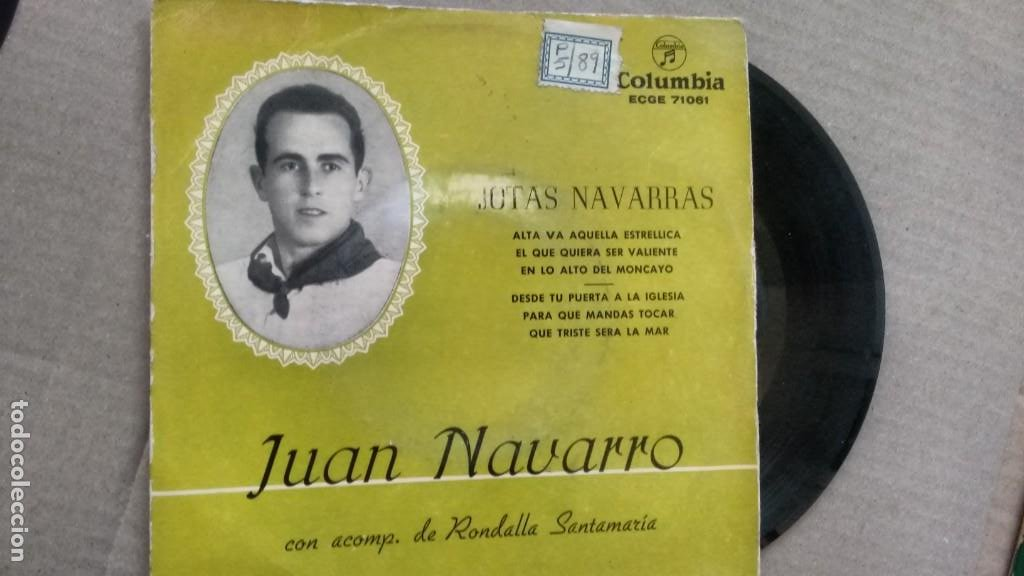 E P ( VINILO) DE JUAN NAVARRO AÑOS 50 (Música - Discos de Vinilo - EPs - Rap / Hip Hop)
