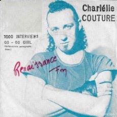 Discos de vinilo: CHARLÉLIE COUTURE 1000 INTERVIEWS ISKAND 1984. Lote 191668915