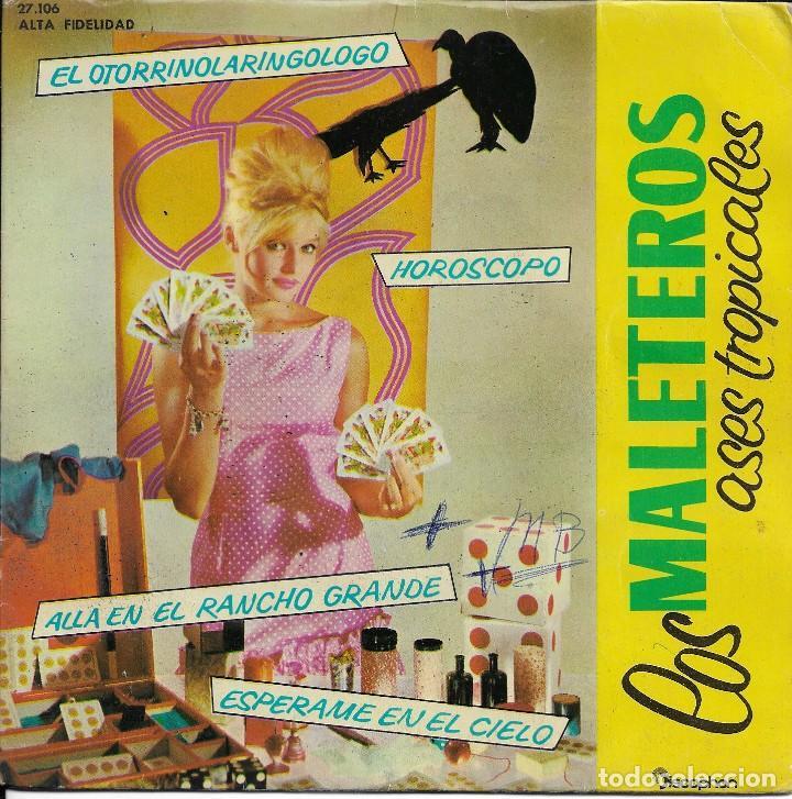 LOS MALETEROS EL OTORRINOLARINGOLOGO DISCOPHON 1962 (Música - Discos de Vinilo - EPs - Grupos y Solistas de latinoamérica)