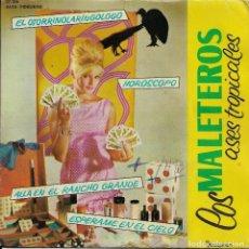 Discos de vinilo: LOS MALETEROS EL OTORRINOLARINGOLOGO DISCOPHON 1962. Lote 191669473