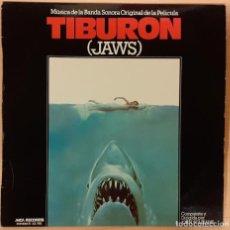 Discos de vinilo: TIBURON (JAWS) JOHN WILLIAMS. Lote 191673871