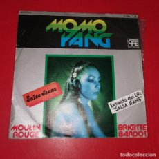 Discos de vinilo: MOMO YANG, SALSA JEANS, ZAFIRO, 1978, BUEN ESTADO. Lote 191674400
