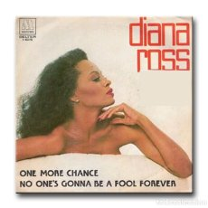 Discos de vinilo: DIANA ROSS - ONE MORE CHANCE. Lote 191604715