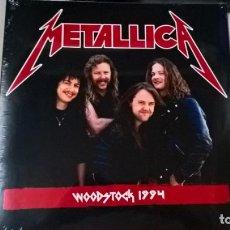 Discos de vinilo: MUSICA LP DOBLE: METALLICA - WOODSTOCK. 1994. PRECINTADO (N). Lote 191680716
