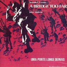Discos de vinilo: A BRIDGE TOO FAR. BSO. LP. VINILO. Lote 191684707