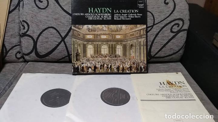 HAYDN - LA CREATION (Música - Discos de Vinilo - Maxi Singles - Clásica, Ópera, Zarzuela y Marchas)