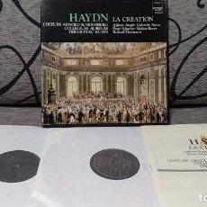 Discos de vinilo: HAYDN - LA CREATION. Lote 191696797