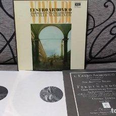 Discos de vinilo: VIVALDI - L´ESTRO ARMONICO. Lote 191696810