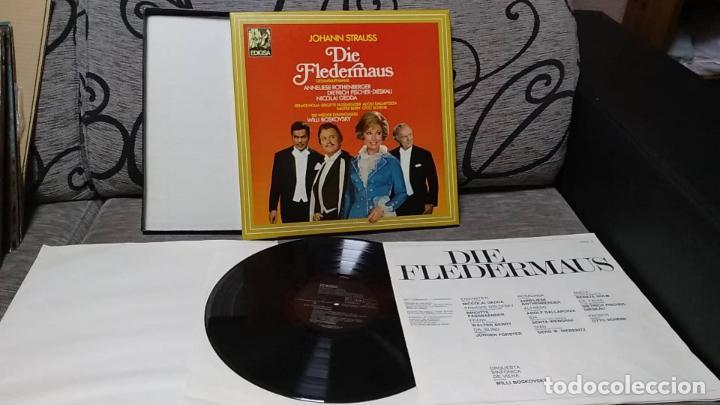 JOHANN STRAUSS*_–DIE FLEDERMAUS (Música - Discos de Vinilo - Maxi Singles - Clásica, Ópera, Zarzuela y Marchas)