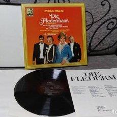 Discos de vinilo: JOHANN STRAUSS*_–DIE FLEDERMAUS. Lote 191696815