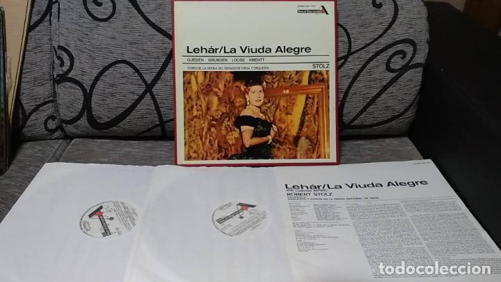 LEHÁR*,GUEDEN* _GRUNDEN* _LOOSE* _KMENTT* _KLEIN* _DÖNCH*,ROBERT STOLZ_–THE MERRY WIDOW - C (Música - Discos de Vinilo - Maxi Singles - Clásica, Ópera, Zarzuela y Marchas)