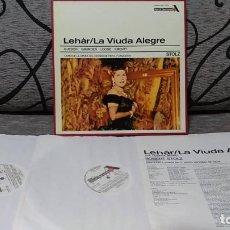 Discos de vinilo: LEHÁR*,GUEDEN* _GRUNDEN* _LOOSE* _KMENTT* _KLEIN* _DÖNCH*,ROBERT STOLZ_–THE MERRY WIDOW - C. Lote 191696817