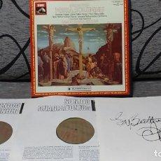 Discos de vinilo: BEETHOVEN - MISSA SOLEMNIS. Lote 191696830