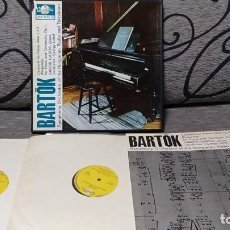 Discos de vinilo: BARTÓK* - SYMPHONY ORCHESTRA OF THE HUNGARIAN RADIO AND TELEVISION* PIANO : GÁBOR GABOS CONDUCTOR : . Lote 191696836
