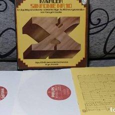 Discos de vinilo: MAHLER*,DERYCK COOKE–NEW PHILHARMONIA ORCHESTRA,WYN MORRIS_–SYMPHONY NO. 10. Lote 191696851