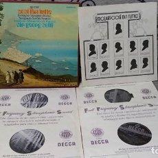 Discos de vinilo: WOLFGANG AMADEUS MOZART,PILAR LORENGAR,GABRIEL BAOQUIER,RYLAND DAVIES,TERESA BERGANZA,JANE BERB. Lote 191696860