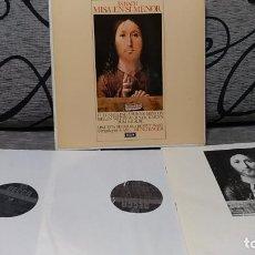 Discos de vinilo: J.S. BACH* -AMELING* /MINTON* /WATTS* /KRENN* /KRAUSE*,CHORUS OF THE SINGAKADEMIE, VIENNA*,ST. Lote 191696867