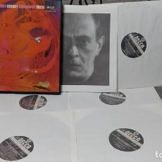 Discos de vinilo: SCHOENBERG* - LONDON SINFONIETTA, DAVID ATHERTON (2) _– THE COMPLETE WORKS FOR CHAMBER ENSEMBLE. Lote 191696878