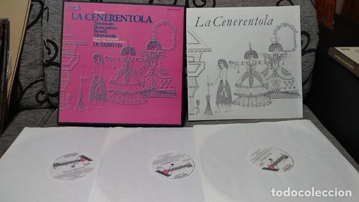 ROSSINI - LA CENERENTOLA (Música - Discos de Vinilo - Maxi Singles - Clásica, Ópera, Zarzuela y Marchas)