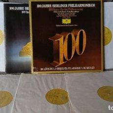 Discos de vinilo: BERLINER PHILHARMONIKER,ARTHUR NIKISCH•LEO BLECH•BRUNO WALTER,•HANS KNAPPERTSBUSCH•ERICH KLE. Lote 191696892